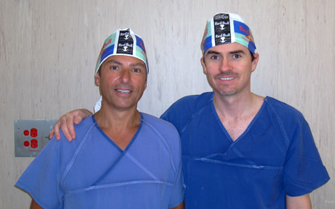 Dr Layani and Dr Clough