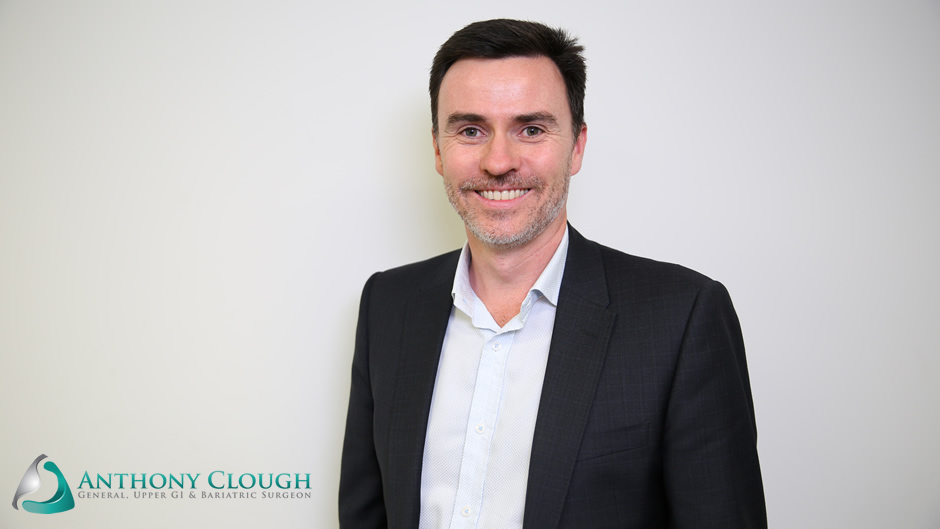 Weight loss surgeon, Mr Anthony Clough